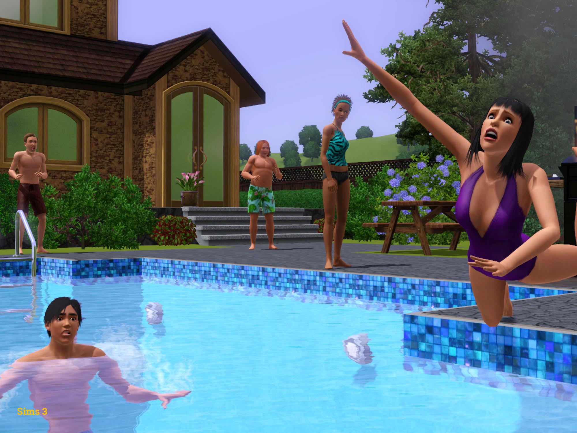Screenshot aus dem Spiel Sims 3